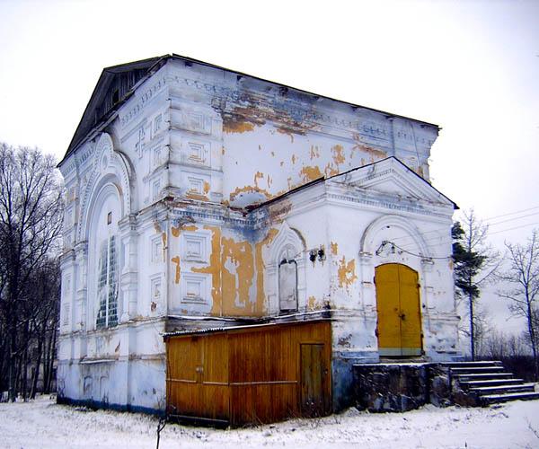 Церковь Варвары Короцкого Тихонова монастыря